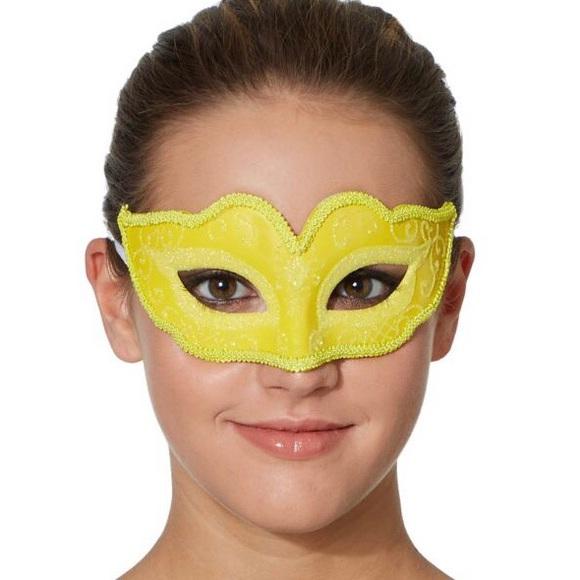 BEAUTIFUL Venetian yellow mask
